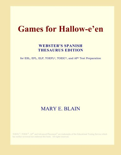 Games for Hallow-e'en