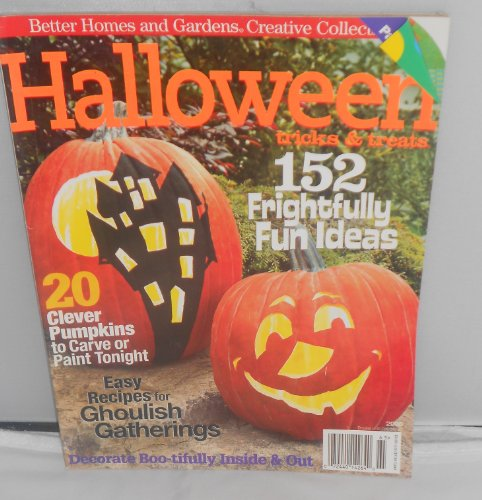Halloweenish better homes and gardens creative collection magazine october 2006 halloween Better homes and gardens tonight
